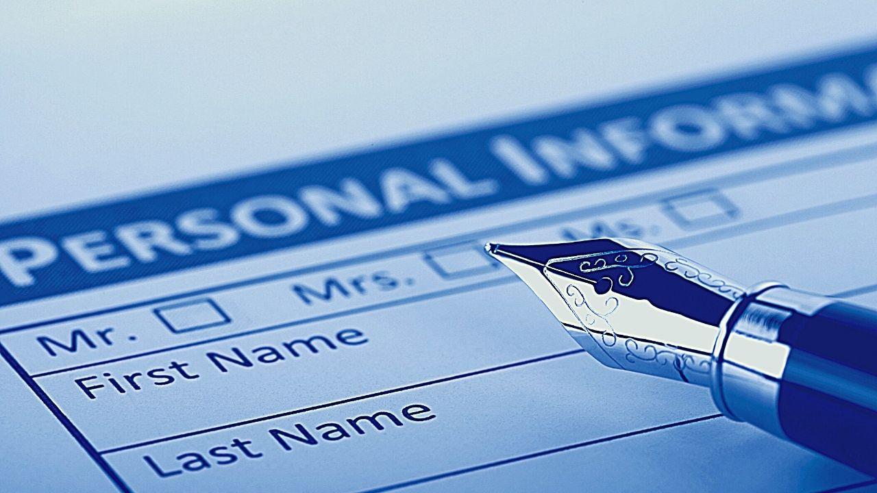 Личная информация граждан